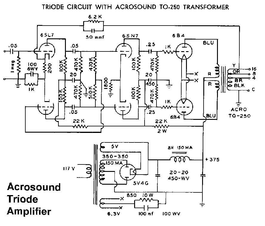 807 push pull amplifier schematic push pull kt88 schematic