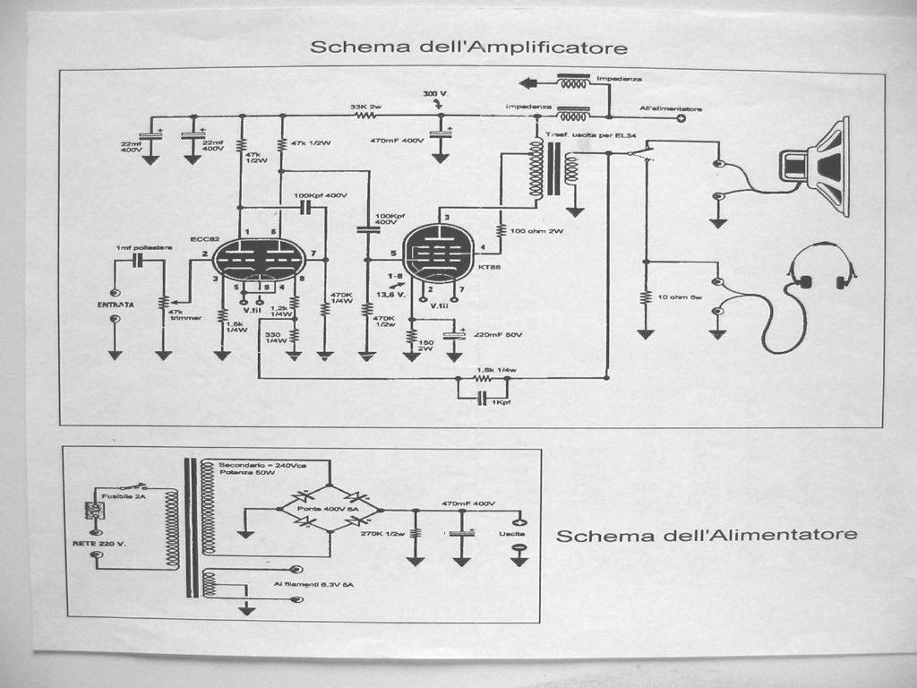 Schemi Elettrici Kit Nuova Elettronica : Schema ampli a valvole nuova elettronica fare di una mosca
